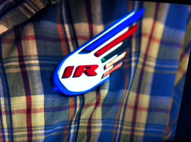 Thunderbirds are go update 1 metal international rescue badge