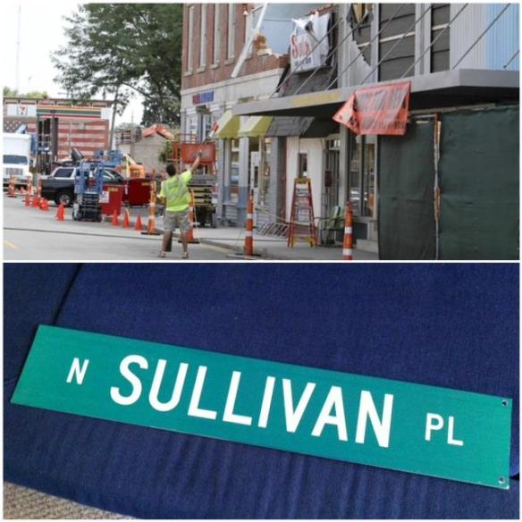 One of the items already sold from Man of Steel include this Street sign from Smallville, the actual town of Plano, IL where the movie was filmed two years ago.