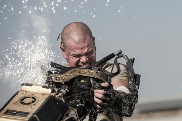 Matt Damon stars as Max in TriStar Pictures' ELYSIUM.