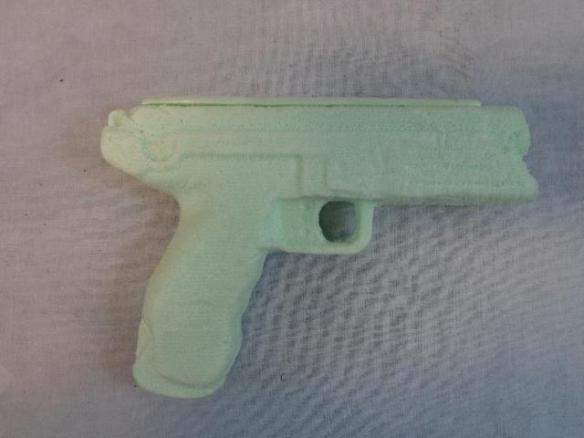 pistol cnc
