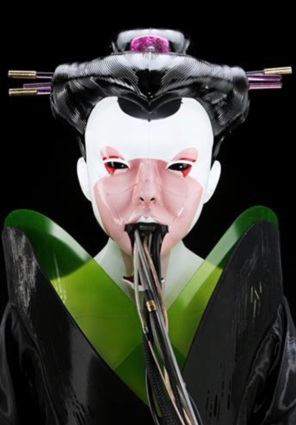 Ghost In The Shell Movie Weta Geisha Mask The Propstop S World Of Entertainment Memorabilia